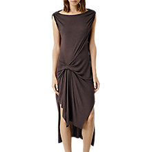Buy AllSaints Riviera Wo Dress, Aubergine Online at johnlewis.com