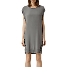 Buy AllSaints Alna Silk Front Dress Online at johnlewis.com