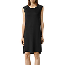 Buy AllSaints Petra Dress, Black Online at johnlewis.com