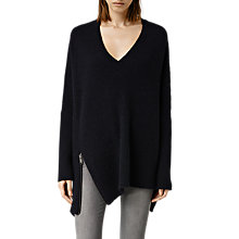 Buy AllSaints Able Zip Jumper Online at johnlewis.com