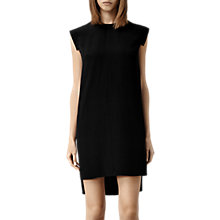 Buy AllSaints Silk Tonya Lew Dress, Black Online at johnlewis.com