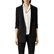 Buy AllSaints Ciana Blazer, Black Online at johnlewis.com