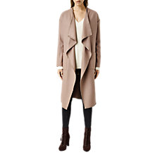 Buy AllSaints Paxx Coat, Dune Online at johnlewis.com