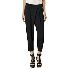 Buy AllSaints Chia Trousers, Black Online at johnlewis.com