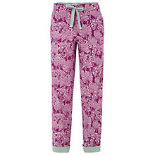 Buy White Stuff Hidden Trees PJ Bottoms, Hypnotic Purple Online at johnlewis.com