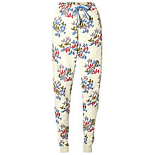 Buy White Stuff Flock Of Bird Joggers, Pebble Grey Online at johnlewis.com