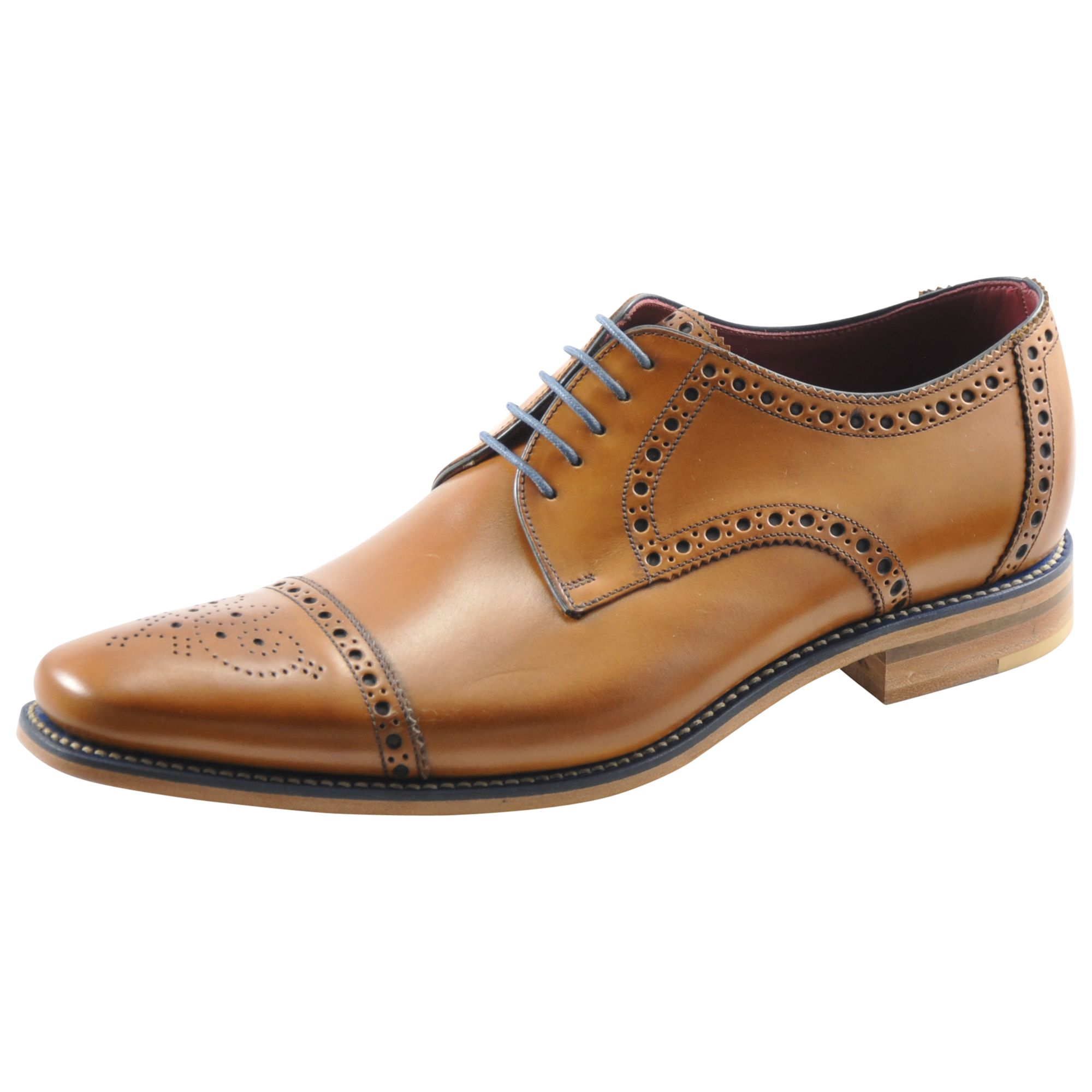 Loake Loake Foley Derby Lace-Up Brogues