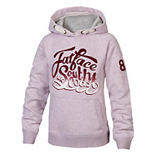 Buy Fat Face Girls' Heritage Hoodie, Purple Online at johnlewis.com