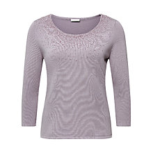Buy Jacques Vert Sparkle Jumper, Mid Purple Online at johnlewis.com