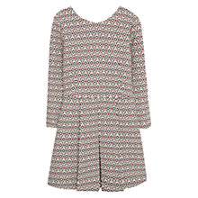 Buy Mango Vestido Jacquard Dress, Multi Online at johnlewis.com