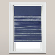 Buy John Lewis Horizon Blackout Blind, Blue Online at johnlewis.com