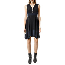 Buy AllSaints Lake Silk Dress Online at johnlewis.com