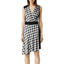Buy AllSaints Zuri Dress, Grey Online at johnlewis.com