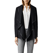 Buy AllSaints Roux Jacket, Ink Online at johnlewis.com