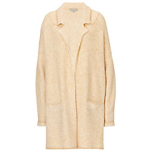 Buy Betty & Co. Textured Knit Cardigan, Cream/White Online at johnlewis.com