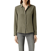 Buy AllSaints Rivet Shirt Online at johnlewis.com