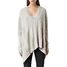 Buy AllSaints Link Draped Jumper Online at johnlewis.com