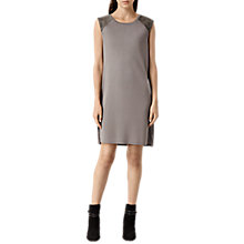 Buy AllSaints Petra Edi Dress, Cement Online at johnlewis.com