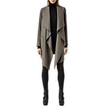 Buy AllSaints Suri Roux Jacket, Light Khaki Online at johnlewis.com