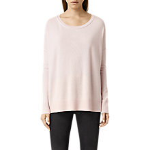 Buy AllSaints Cashmere Char Jumper, Shell Marl Online at johnlewis.com