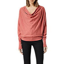 Buy AllSaints Elgar Cowl Neck Jumper Online at johnlewis.com