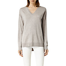 Buy AllSaints Beck V Neck Jumper Online at johnlewis.com