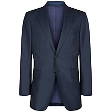 Buy Jaeger Wool Birdseye Modern Jacket, Navy Online at johnlewis.com