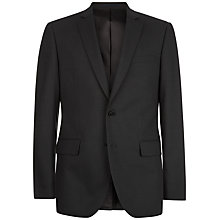 Buy Jaeger Wool Pick and Pick Slim Jacket, Charcoal Online at johnlewis.com