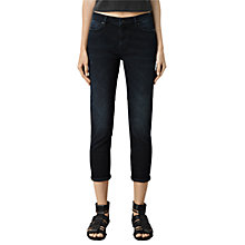 Buy AllSaints Zig Slim Fit Jeans, Blue/Black Online at johnlewis.com
