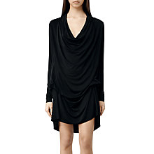Buy AllSaints Amei Long Sleeve Dress Online at johnlewis.com