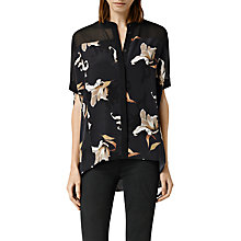 Buy AllSaints Fleet Yoro Shirt, Night Online at johnlewis.com