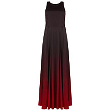 Buy Ted Baker Yumie Open Back Maxi Dress, Dark Red Online at johnlewis.com