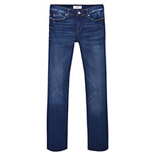 Buy Mango Bootcut Cara Jeans, Open Dark Blue Online at johnlewis.com
