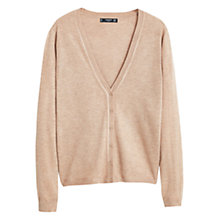 Buy Mango Contrast Trim Detail Cardigan Online at johnlewis.com