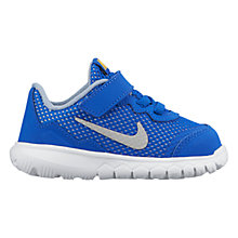 Buy Nike Children's Flex Experience 4 Sports Trainers, Blue Online at johnlewis.com
