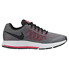 Buy Nike Children's Air Zoom Pegasus 32 Running Shoes, Grey/Pink Online at johnlewis.com