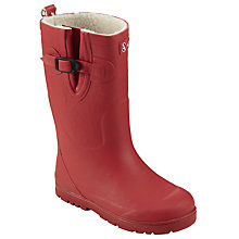 Buy Aigle Children's Woodypop Wellington Boots, Cerise Online at johnlewis.com