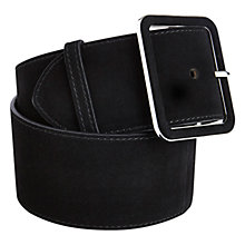 Buy Karen Millen Suede Waist Belt Online at johnlewis.com
