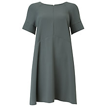 Buy Phase Eight Zelda Swing Dress, Charcoal Online at johnlewis.com