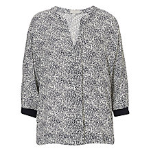 Buy Betty & Co. Printed Oversized Top, Dark Blue/White Online at johnlewis.com