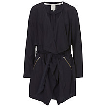 Buy Betty & Co. Unlined Coat, Dark Sapphire Online at johnlewis.com