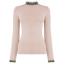 Buy Warehouse Embellished Neck And Cuff Jumper Online at johnlewis.com
