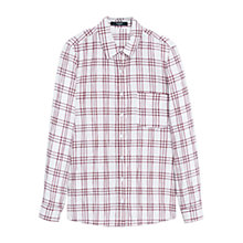 Buy Mango Check Cotton Shirt Online at johnlewis.com