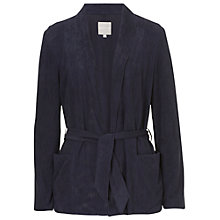 Buy Betty & Co. Punched Cardigan, Dark Sapphire Online at johnlewis.com