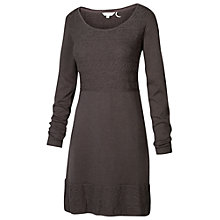 Buy Fat Face Tapestry Stitch Dress, Moleskin Online at johnlewis.com