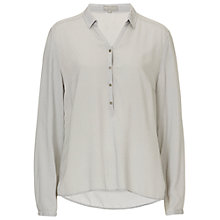 Buy Betty & Co. Printed Shirt, Silver/Grey Online at johnlewis.com