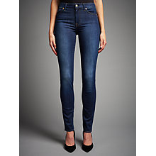 "Buy 7 For All Mankind Rozie 33"" Slim Jeans, Boston Blue Online at johnlewis.com"