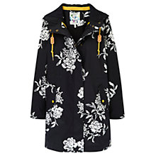 Buy Joules Right as Rain Raina Waterproof Parka, Black Floral Online at johnlewis.com