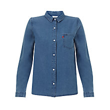 Buy Levi's Faye Denim Shirt, Grove Online at johnlewis.com