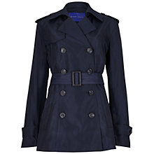 Buy Winser London Short Trench Coat, Navy Online at johnlewis.com